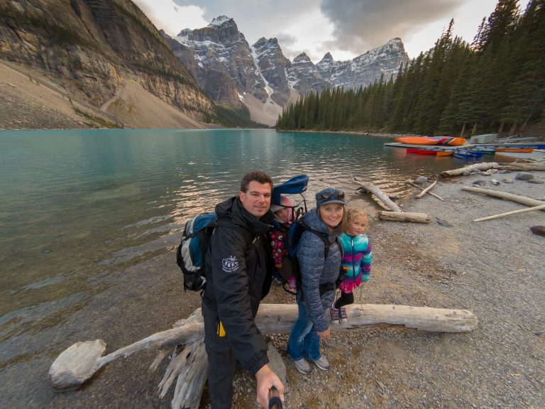 Wilson Family at Moraine Lake
