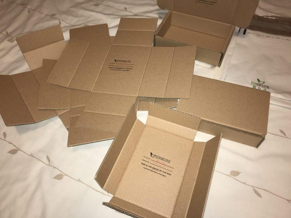Sample Shipping Materials